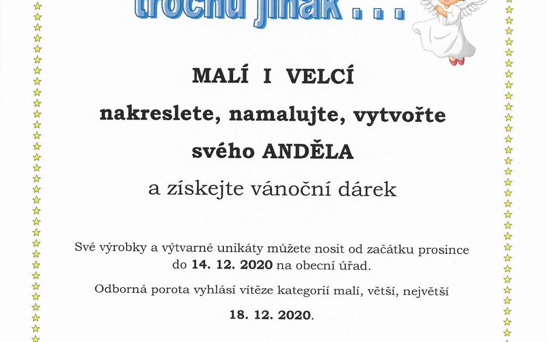 Andělské zvonkovávní – vánoční soutěž pro všechny malé i velké do 14.12.2020